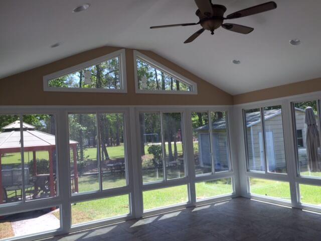 Sunroom Installation Eastern North Carolina